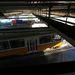 Görnyedve lehet haladni a hídtest alatti járófelületeken