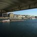 Duna parti panoráma a hídtest alól