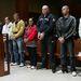 Nyolcból négy vádlott úgy döntött, vállalja arcát a nyilvánosság előtt