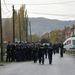 Komoly rendőri biztosítás mellett tartott helyszíni tárgyalást a Debreceni Ítélőtábla Olaszliszkán kedden