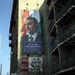 Több helyen is látható a nagy Orbán-plakát.