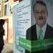 Csapody Miklós, az MDF jelöltjeként indult majd lépett vissza a 15. választókerületben, ezen az általunk most felfedezett plakáton még ajánlószelvényeket kér.