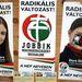Dúró Dóra, a Jobbik szóvivője a 15. választókerületben indul.