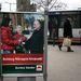Egy március elejéről megmaradt plakát az MSZP-s Burány Sándortól.