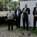 A vállalkozó, a fúrást végző cég vezérigazgatója, Szentendre illetve Visegrád polgármestere bejelentik a nagy hírt