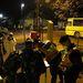 Kolontár területén a rendőrség hangszórókon értesíti a lakosságot a kitelepítésről, az ott tartózkodó tartozkodó bel- és külföldi tudósítóknak el kellett hagyniuk Kolontárt