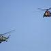 Honvédségi helikopterek nyitották a bemutatót