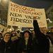 A tüntetés szónokai között pártpolitikusok nem voltak. Valamennyien az alaptörvény, illetve Orbán Viktor és rendszere ellen szónokoltak. A tömeg többször skandálta, hogy Orbán, takarodj!, illetve
