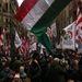 Vona Gábor a szombati demonstráción az Európai Unióból való kilépés szükségességéről beszélt.