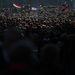 Telve volt a Ferenciek tere is ahol az Egymillióan a sajtószabadságért Facebook-csoport rendezett kormányellenes demonstrációt.
