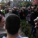 Kb. kétszázan mentek el a rektor mellett tartott politikamentes demonstrációra