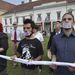 Valódi demokráciát követel az Áder beiktatása után flashmobbal tiltakozó Occupy-csoport.
