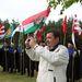 Zászlókkal álltak sorba a vitézek