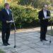 Tom Noerring dán királyi nagykövet és Dr. Nagy András, Povl Bang-Jensen történetét húsz éve kutató történész
