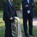 Jens Clausen magyarországi dán tuba művész és Tom Noerring dán királyi nagykövet