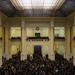 A Hallgatói Önkormányzatok Országos Konferenciájának (HÖOK) fórumán zsúfolásig megtelt a Műegyetem aulája.