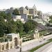 A Várkert Bazár délkeleti nézete a királyi palotával