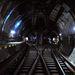 A deák téri alagút, ahogy az utasok nem gyakran látják