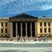 Ezen a képen pedig az Oslói Egyetem épülete látható