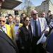 Eleni Tsakopoulos Kounalakis amerikai, és Ilan Mor izraeli nagykövetek