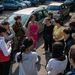Reggel tíz órakor felcukkolt szülők és aktivisták várták Balog Zoltánt, aki tanúként érkezett egy bírósági meghallgatásra a Nyíregyházi iskola ügyében.