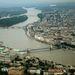 Budapest látképe a Gellért hegy felől