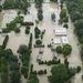 Víz alá került házak Esztergomnál
