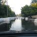 Víz a 11-es úton, Szentendrénél