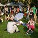 Hat óra után érkezett a menet az Olimpia parkba egy csendes piknikre.