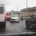 Hat autó ütközött a Váci úti felüljárón.