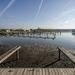 A Szalók Yacht Klub kikötője a Tisza-tó Attila-öblében Abádszalóknál