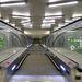 Ledekkel kivilágított mozgólépcső a 4-es metró Keleti pályaudvari állomásán