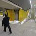 A 4-es metró Kálvin téri állomását a 3-as metróval összekötő gyalogos alagút