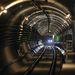 Alstom szerelvény közlekedik a próbaüzem közben a 4-es metró Móricz Zsigmond körtéri és Újbuda-központi állomása között