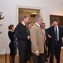 Bejárták a felújított múzeumot Áder Jánossal