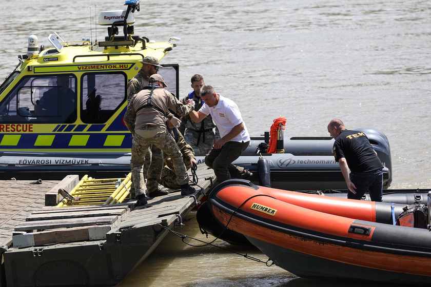 Deadly boat crash on the Danube: Divers forbidden from entering shipwreck despite plea from South Korean Defence Attaché - 7