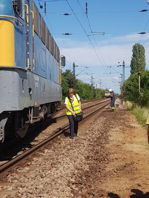 Majdnem vonatbaleset történt Hort-Csány mellett