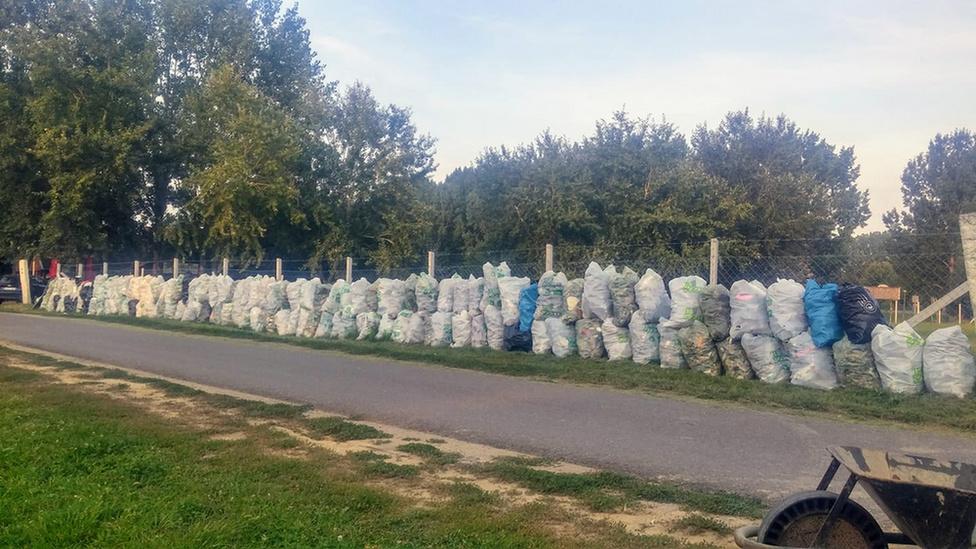 Felmondott a munkahelyén, két hónapja önkéntesként szemetet szed a Tisza-tavon - 4