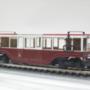 A 11. pályaszámú motorkocsi 1:87 méretarányú modellje