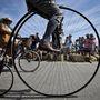 A nagy kerék tévútnak bizonyult, győzött a láncos kerékpár