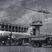 A nemzetközi élvonalba belépett ferihegyi repülőtér épülete. 1959. május.