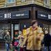 Az új magyar étteremlánc első üzlete a város egyik legforgalmasabb pontján nyílt.