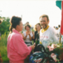 László fogadása a bő hétezer kilométeres atlantai út után