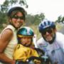 Ausztrál biciklisekkel valahol Perth és Sydney között
