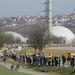 A neckarwestheimi atomerőmű ellen élőlánccal tiltakoznak civilek