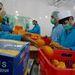 Az afgán mezőgazdasági termelés idényjellegére jellemző, hogy ottjártunkkor Egyiptomból importált narancsot dolgoztak fel.