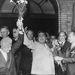 1968. Brezsnyev és Szvoboda elnök, Pozsonyban, a szovjet-csehszlovák kapcsolatok felvirágoztatásán dolgoztak.