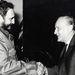 1972. A Budapestre látogató Fidel Castro Kádár János alászolgáját fogadja.