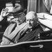 1960. március 23. Nyikitia Hruscsov és Charles de Gaulle Hruscsov franciaországi látogatásán Orlyban.