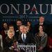 Ron Paul sajtótájékoztatóján nem tulajdonított nagy jelentőséget az iowai eredménynek.